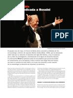 ARTICULO. Una Vida Dedicada a Rossini, Alberto Zedda