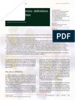 MEDICATION ERROR- DEFINITION AND CLASSIFICATION.pdf