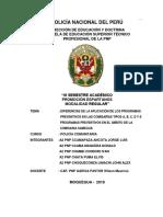 MONOGRAFIA-DIFERENCIAS DE LA APLICACIÓN DE LOS PROGRAMAS PREVENTIVOS EN LAS COMISARÍAS TIPOS A B .doc