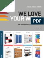 Human Workspace Catalogue - Shelving, Racking and Storage 2019