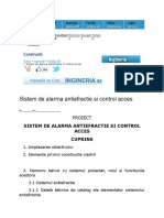 aeronautica model raport