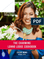 PREVIEW the Charming Lonno Lodge Cookbook