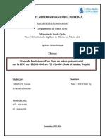 Etude de fondation d'un pont en béton précontraint sur la RN9 du Pk00+000 au Pk 01+060 (Souk el tennine, Béjaia).pdf