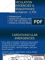 Cardiovascular Emergencies, CPR