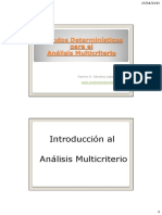 DiapositivasCurso1 2013 Analisis Multicriterio UMSS CESU