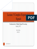 Lecture 3 Complex Exponential Signals