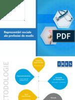 IRES_Reprezentari sociale ape profesiei de medic_Sondaj de opinie_2017