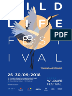 Vaasa Wildlife Festival 2017-2018 Toimintakertomus FIN
