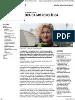 A Hora de Micropolítica