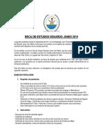 Becas Eduardo-Jones 2019