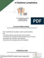 Systema Lymphatica Anatomi Biom 1- 2018