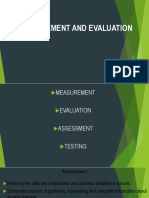 Assessment of Learning 1