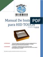 Manual Instrução HID Rel 8.08