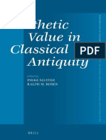 (Mnemosyne Supplements_ Monographs on Greek and Latin Language and Literature 350) Ineke Sluiter, Ralph M. Rosen - Aesthetic Value in Classical Antiquity-Brill Academic Pub (2012).pdf