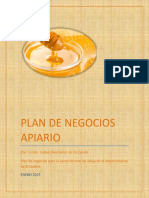 Plan de Negocios Apiario