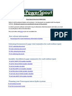 PowerSpout Document Index Links