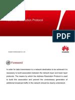 HC110110015 Address Resolution Protocol