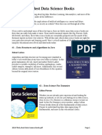 2018 Thirty Best Data Science Books
