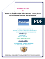 lenevo consumer buying behavior.docx