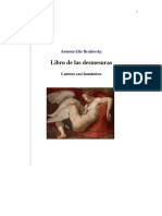 Libro de Las Desmesuras (cuentos casi fantásticos) de Antonio Elio Brailovsky