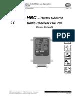 Radio Receiver FSE 735