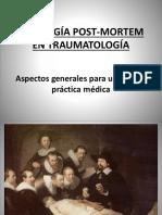 Patología Post-mortem en Traumatología