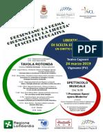 Programma 24 Marzo 2019