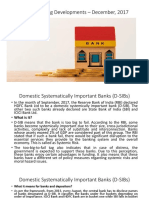 Latest Banking Developments - Dec17