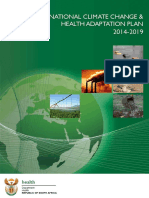 National Climate Change and Health Adaptation Plan 2014-2019
