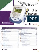 User Manual - 2784 Vectra Genisys Laser