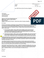 Email From Mr Flint - PRR - 6-2010 Sewer Spill Conspiracy Allegations Dated Rcvd 10 22 10