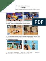 15 Reglas Básicas Del Voleibol