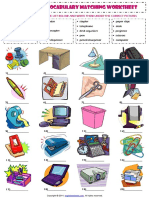 in the office esl vocabulary matching exercise worksheet.pdf