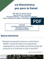 Basura Electronica y Riesgos Para La Salud