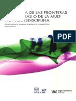 Ruptura de Las Fronteras Imaginarias o de La Multi a La Transdisciplina - Argueta & Peinmbert (2015)