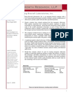 KBLB Analyst Report,July 2008