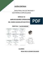 AMPLIFICADORES PRACTICA2