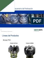 Terminologia y Mecanismo PDC Brocas