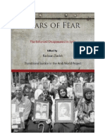 Years of Fear (Forcibly Disappeared in Syria)