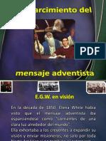11. Esparcimiento Mensaje Adventista