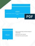 Visi Misi Mo Process Design