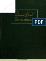 Oceanic Birds of South America Vol 1
