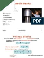 T2 x Potencial Electrico