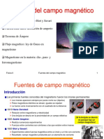 T5 x Fuentes Del Campo Magnetico