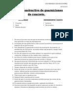 Proceso Constructivo de Guarniciones de Concreto