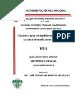 TESIS-Concentrador de Medidores Digitales Para Sistema de Mediciones Remotas