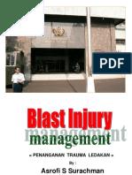 Blast Injuries Management