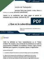 Subordinación y Contratos. (1)