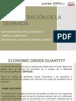 Eoq-lote Economico a Ordenar