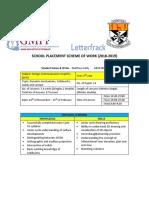5th year dcg scheme of work ado
